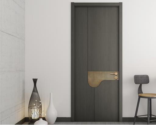 简约卧室门室内门 实木复合木门 油漆套装定制门zx-043